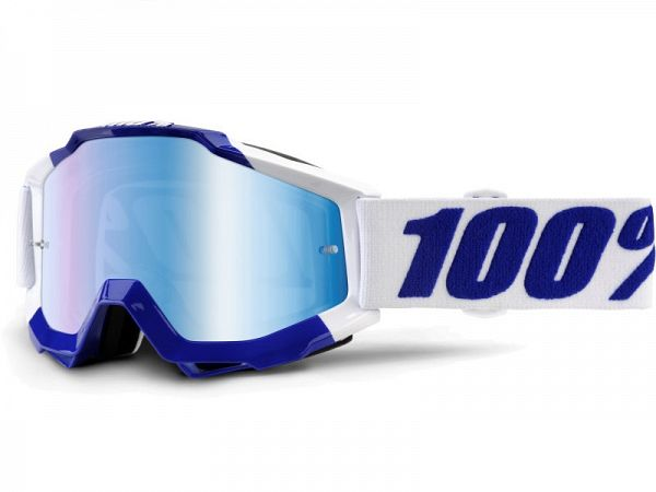 100% Accuri Calgary BMX Briller, Mirror Blue Lens