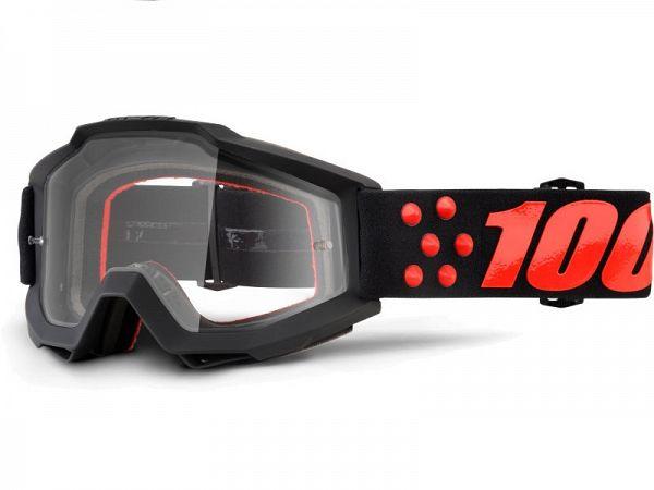 100% Accuri Gernica BMX Briller, Clear Lens