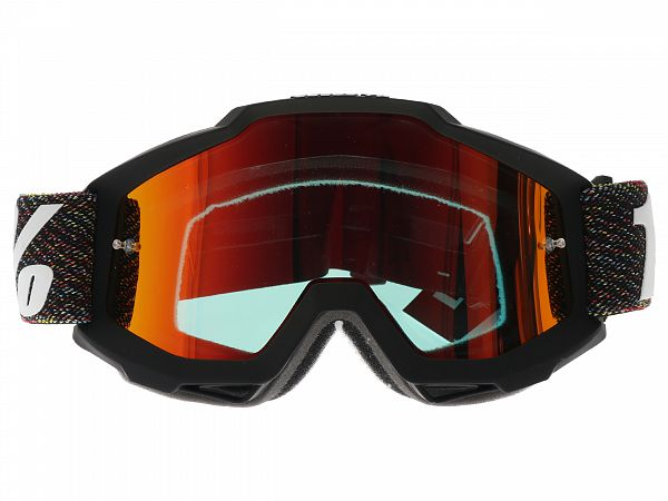 100% Accuri Krick BMX Briller, Mirror Red Lens