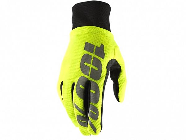 100% Hydromatic Waterproof Handsker, Neon Yellow
