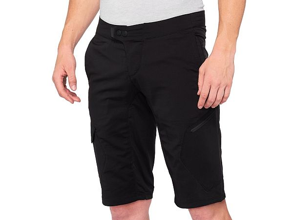 100% Ridecamp Shorts, Black