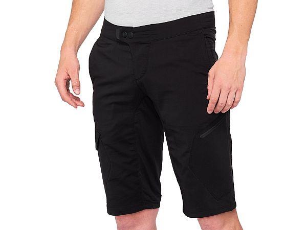 100% Ridecamp Shorts, Black
