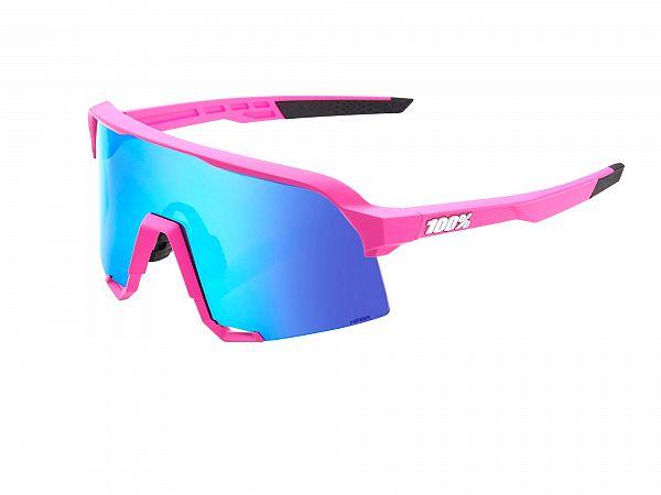100% S3 Solbriller, Matte Pink