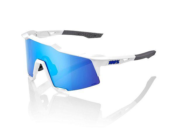100% SpeedCraft Solbriller, Matte White