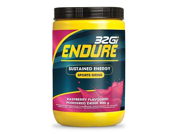 32Gi Endure Hindbær Energy Drink, 900g
