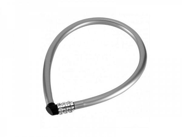 Abus 1100 Grey Wirelås, 55cm