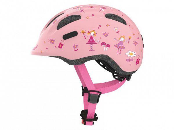 Abus Smiley 2.0 Cykelhjelm, Rose Princess