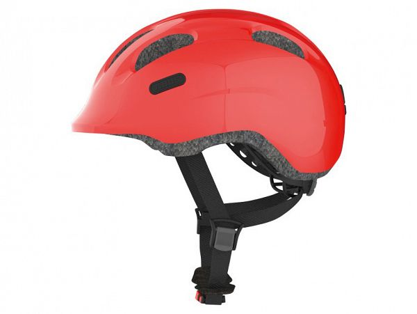 Abus Smiley 2.0 Cykelhjelm, Sparkling Red