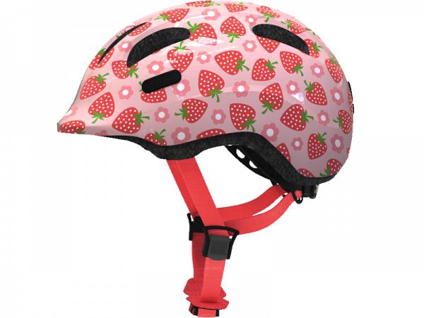 Abus Smiley 2.1 Cykelhjelm, Rose Strawberry
