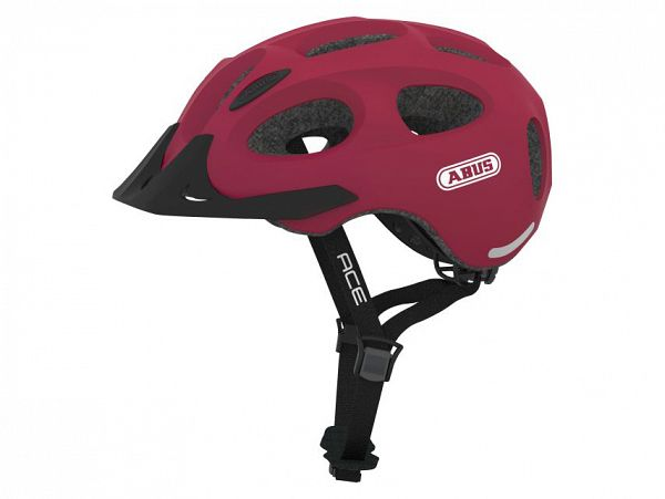 Abus Youn-I Ace Cykelhjelm, Cherry Red
