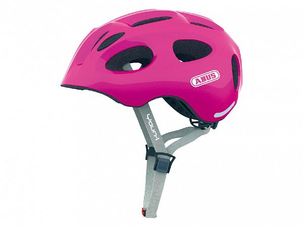 Abus Youn-I Cykelhjelm Sparkling Pink