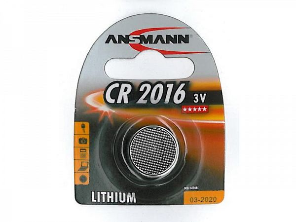 Ansmann CR2016 3V Batteri