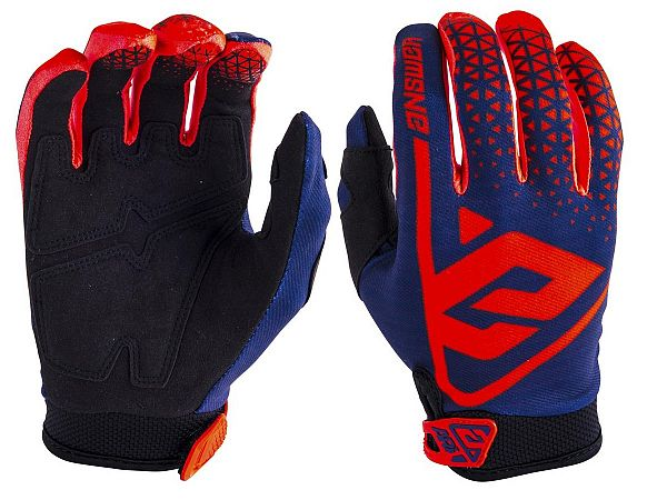 Answer AR1 Gloves, Red/Midnight