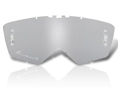 Ariete Cross Brilleglas, Silver Mirror