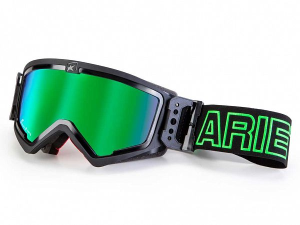 Ariete MX Adrenaline BMX Briller, Black/Green