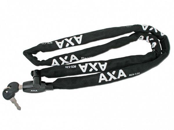 Axa Rigid Black Kædelås, 120cm