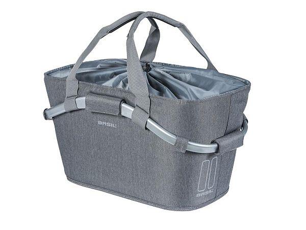 Basil Carry All MIK Bagtaske, Grey