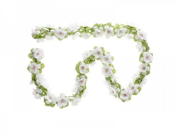 Basil Garland Blomsterkrans, hvid