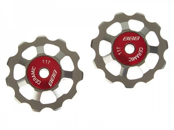 BBB 9/10/11-Speed Alu Boys Keramiske Pulleyhjul, 11T