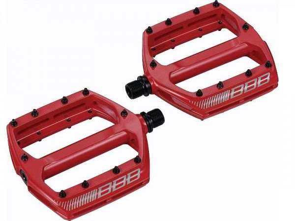 BBB CoolRide Pedaler, Red