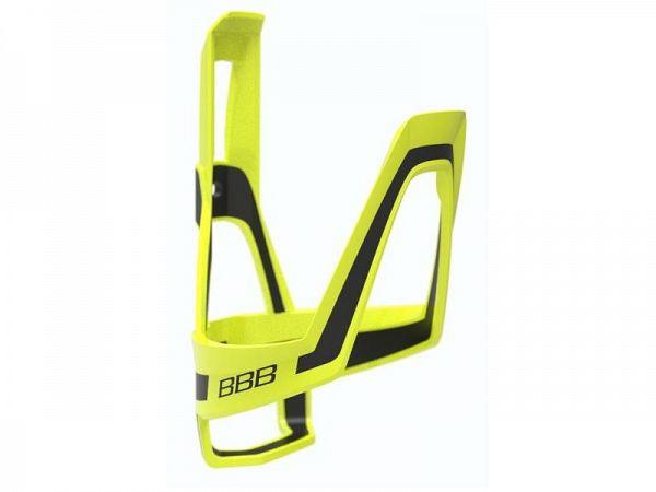 BBB DualCage Flaskeholder, Yellow