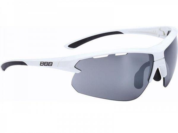 BBB Impulse Glossy White Solbriller, 3 Linser