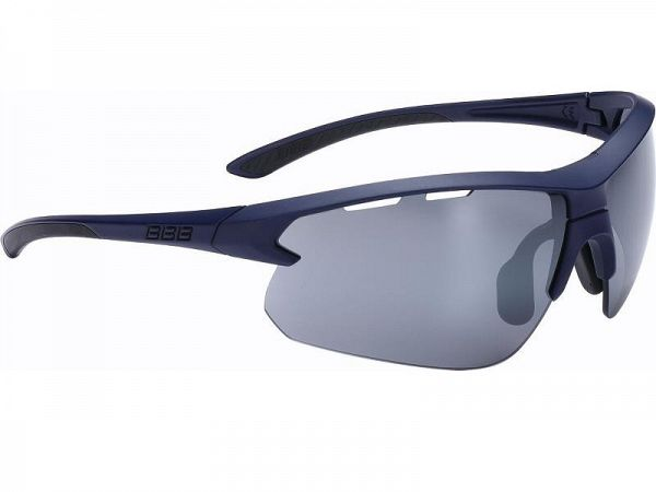 BBB Impulse Matt Dark Blue Solbrille, 3 Linser