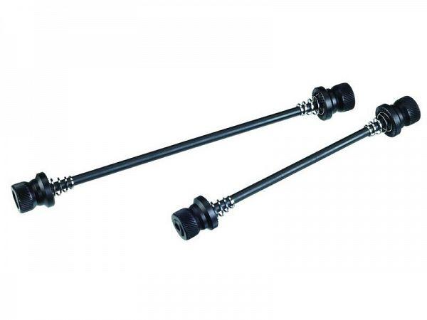 BBB Wheelfix Stikaksel, 100+130mm