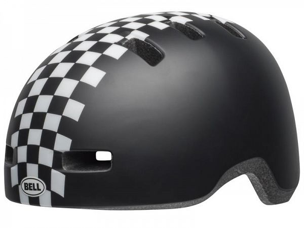 Bell Lil Ripper Cykelhjelm, Black Checkers