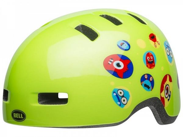 Bell Lil Ripper Cykelhjelm, Monster Gloss Green