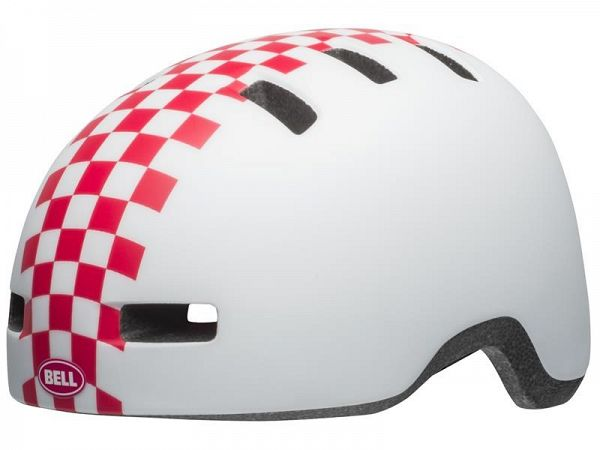 Bell Lil Ripper Cykelhjelm, White Checkers