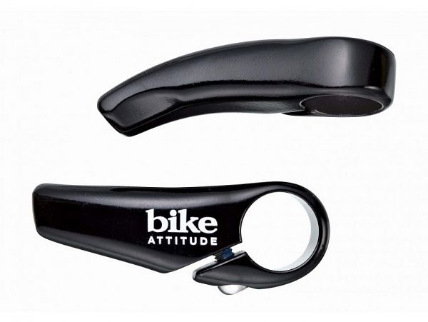 Bike Attitude Mini sorte Barends, 65mm