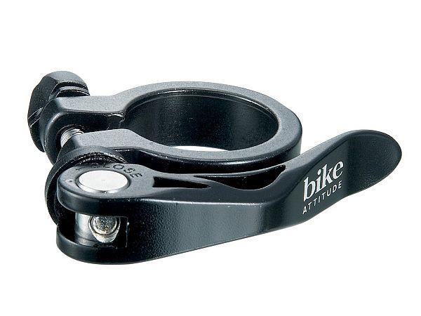 Bike Attitude QR Sadelrørsklampe, 28,6mm
