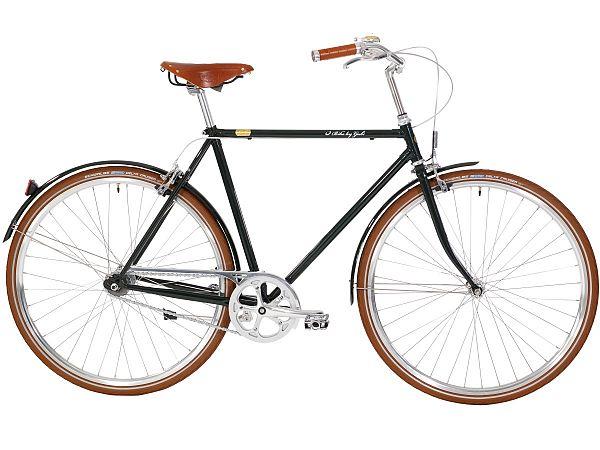 Bike By Gubi 7 British Racing Green - Herrecykel - 2022