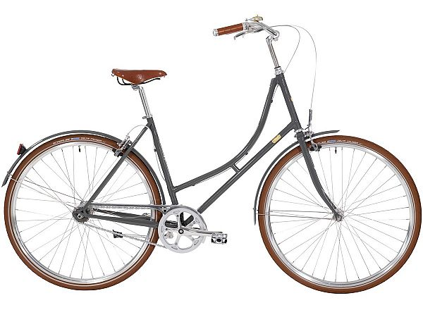 Bike by Gubi 8 Gubi Grey - Damecykel - 2020