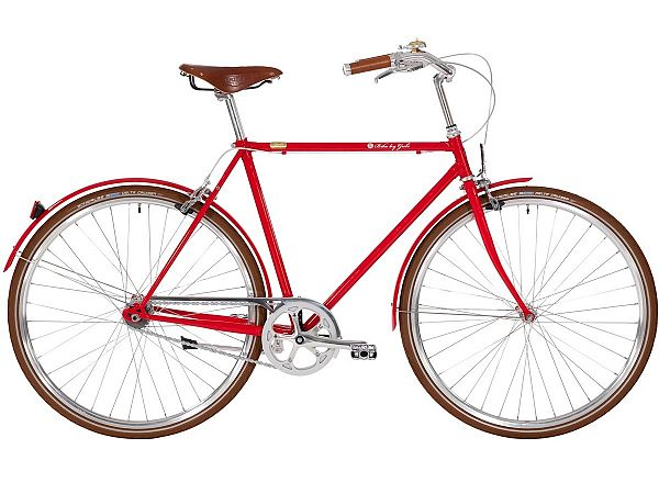 Bike by Gubi 8 Red Nelson - Herrecykel - 2020
