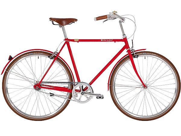 Bike by Gubi 8 Red Nelson - Herrecykel - 2021