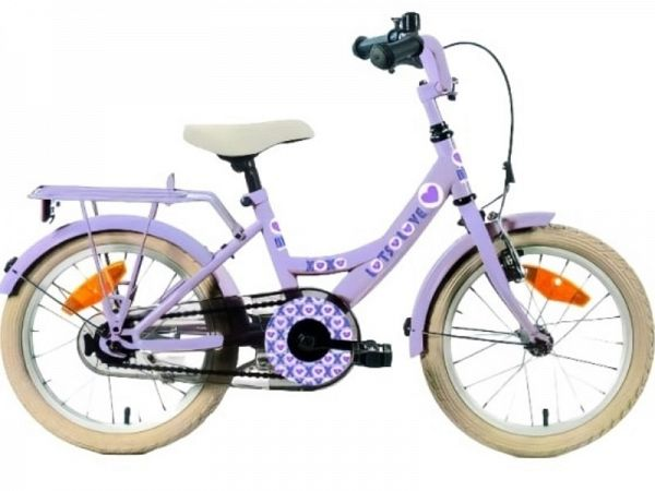 "Bike For Fun 12"" Purple - Pigecykel - 2021"