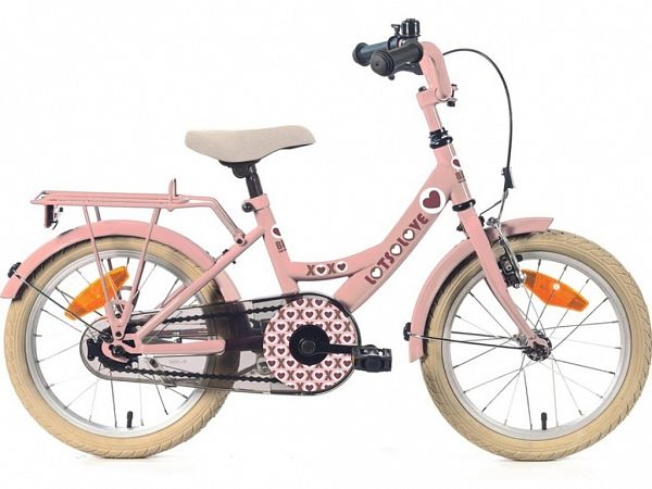 "Bike For Fun 12"" Rose - Pigecykel - 2021"
