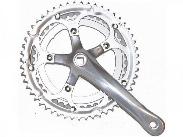 Bike Partner Double 7/8-Speed Kranksæt, 52/42T