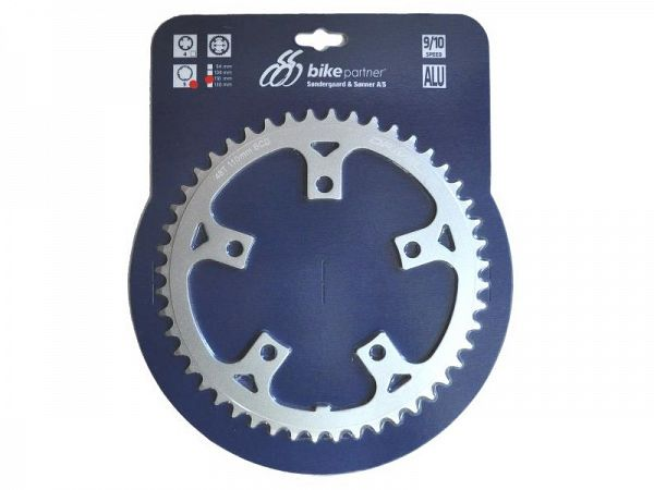 Bike Partner Driveline 9/10-Speed Klinge, 48T