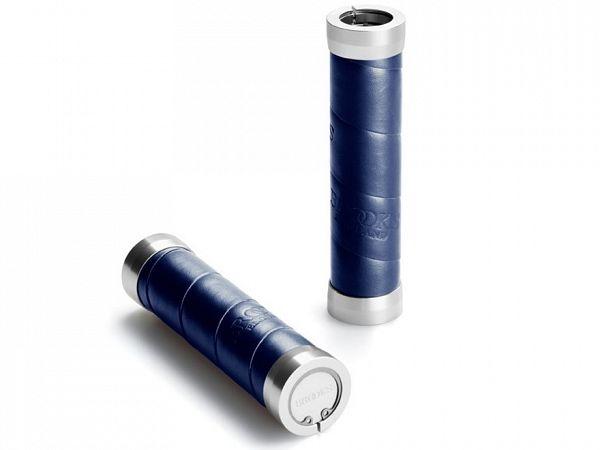 Brooks Slender Blue Læder Håndtag, 130mm