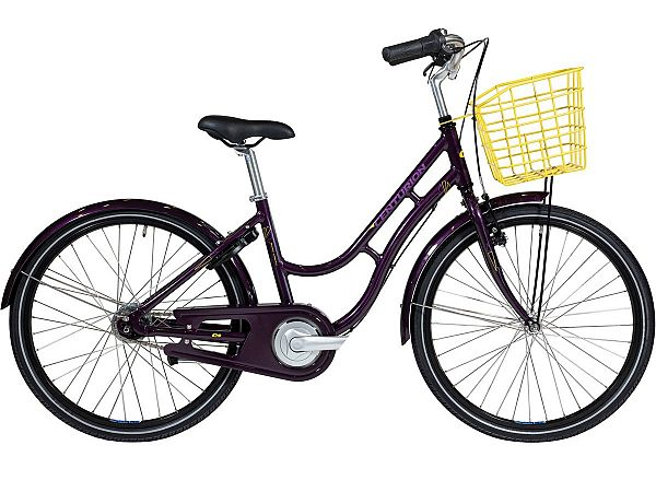 "Centurion Basic Urban 24"" Purple - Pigecykel - 2020"