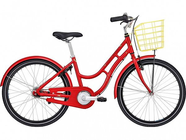 "Centurion Basic Urban 24"" Red - Pigecykel - 2022"