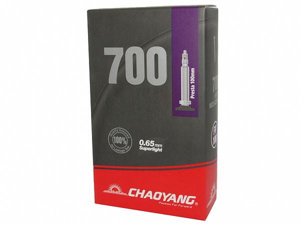 Chaoyang Cykelslange 700x23/28C, 100mm Racerventil