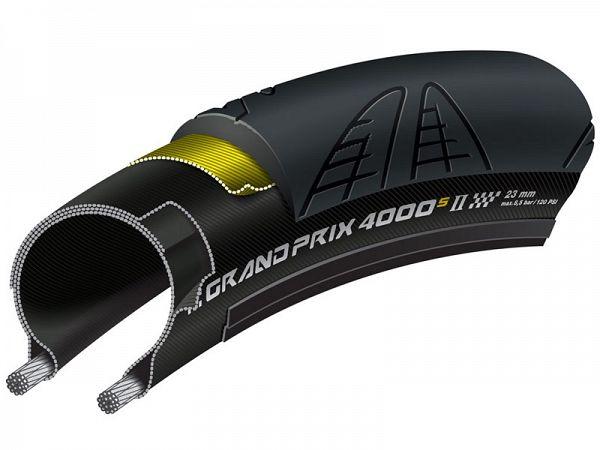 Continental Grand Prix 4000 S II Foldedæk, 700x25C (25-622)