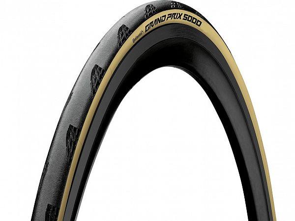 Continental Grand Prix 5000 Creme Foldedæk, 700x25C (25-622)