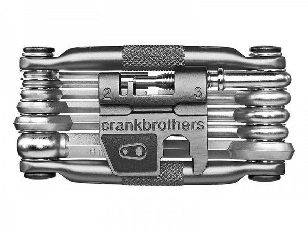 Crankbrothers M17 Nickel Foldeværktøj, 17 Funktioner