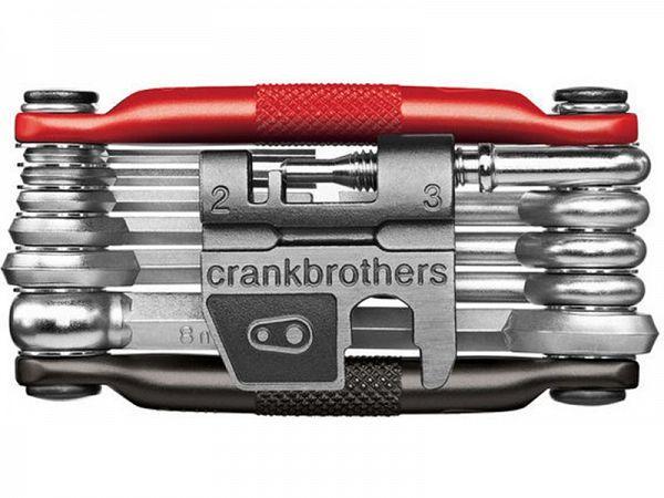 Crankbrothers M17 Red Foldeværktøj, 17 Funktioner