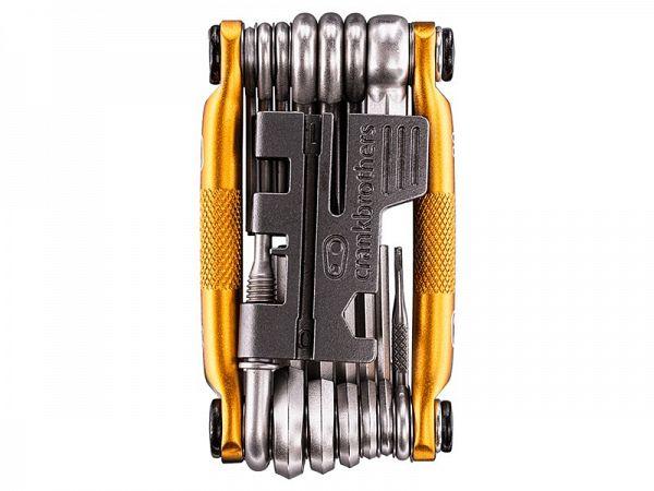 Crankbrothers M20 Gold Foldeværktøj, 20 Funktioner